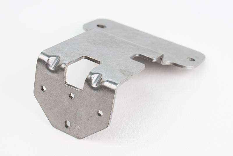Mild steel laser cut